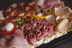 Meat Platter Wedding Buffet