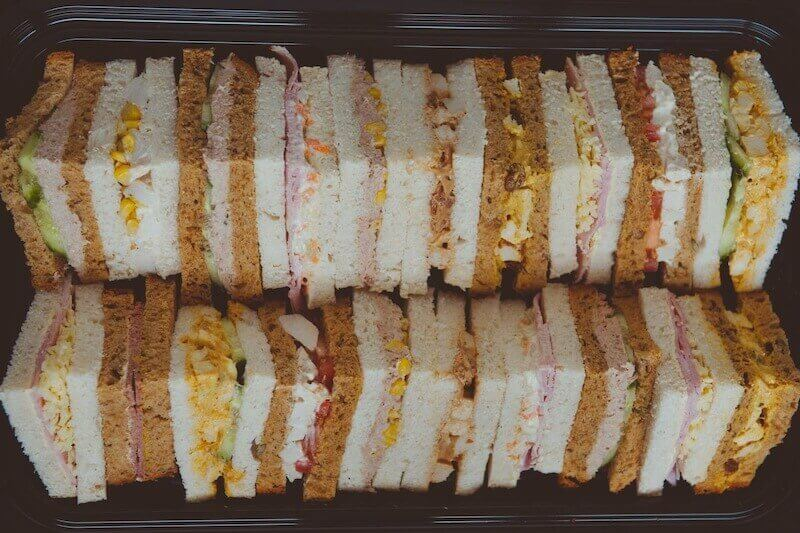 Evening Buffet Sandwiches