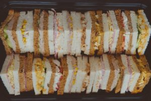 Luxury Sandwiches Wedding Buffet