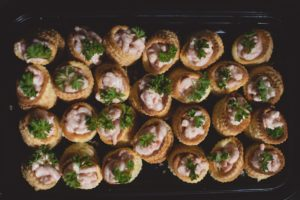 Wedding Buffet Vol Au Vent Prawn Cocktail