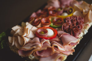 Luxury meat Platter homemade catering finger food cater Crawley West Sussex Surrey wedding birthday parties anniversary christening wedding funeral