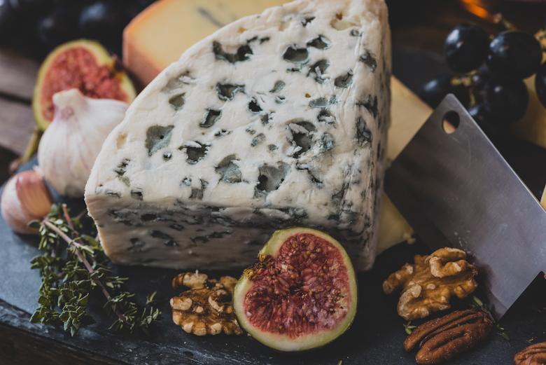 rustic cheese board platter
