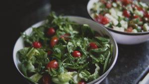 Rustic Salad rocket tomato