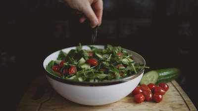 Rustic Salad Rocket cherry tomato