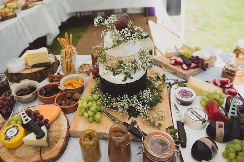 luxury cheese board