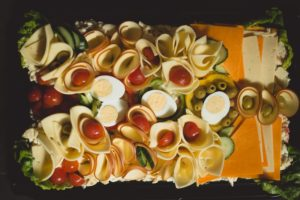 cheese platter party food catering cater Crawley West Sussex Surrey buffet anniversary birthday funeral wedding parties