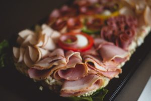 Meat platter, party food, west sussex, crawley catering company, sandwich platters, wedding buffet, event buffet sussex company