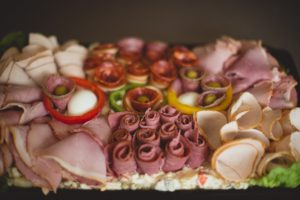 meat platter party food Crawley West Sussex Surrey buffet catering wedding birthday christening funeral cater birthday anniversary