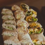 wrap sandwich platters platter party food catering cater Crawley West Sussex Surrey birthday party parties buffet finger food