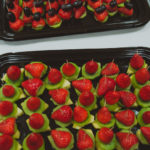 party food Crawley West Sussex fruit selection canape catering finger food birthday funeral funerals wedding celebration cater