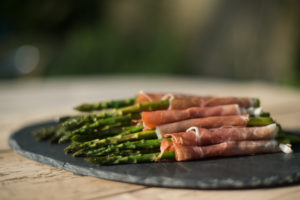 Canape Asparagus Parma Ham West Sussex Crawley catering buffet birthday parties party finger food funeral unniversary