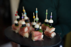 melon and parma ham canape canapes catering gluten free Crawley West Sussex party food finger canapes birthday funeral cater annivesary bites fresh homemade